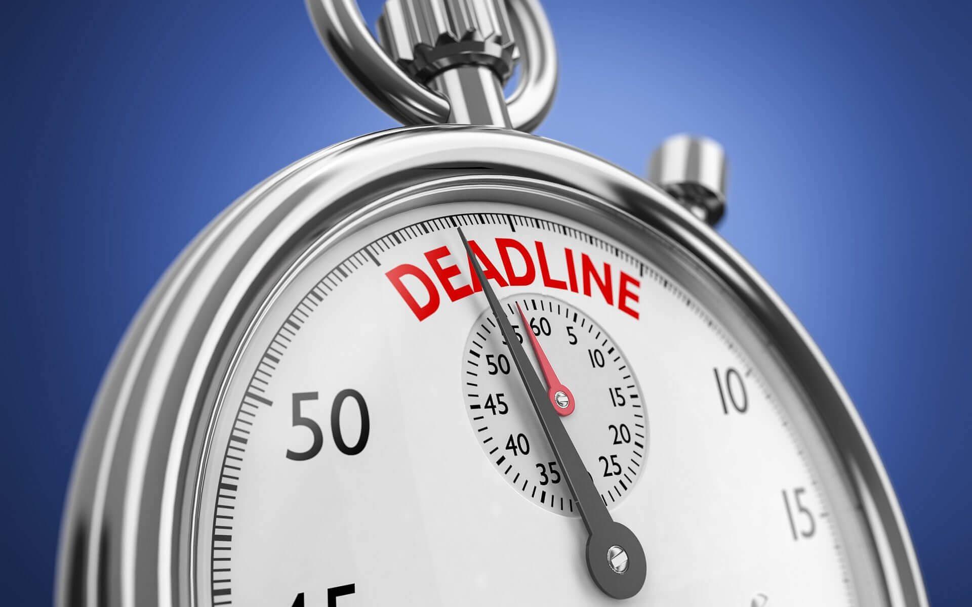 Ökad produktivitet slår deadline