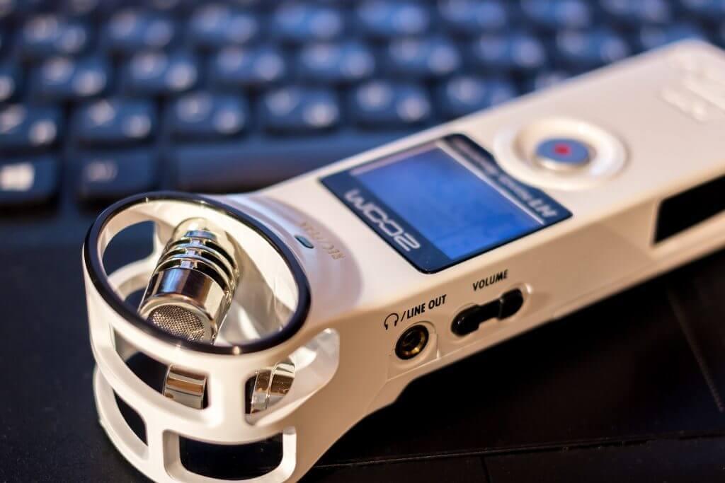 transkribering-diktafon
