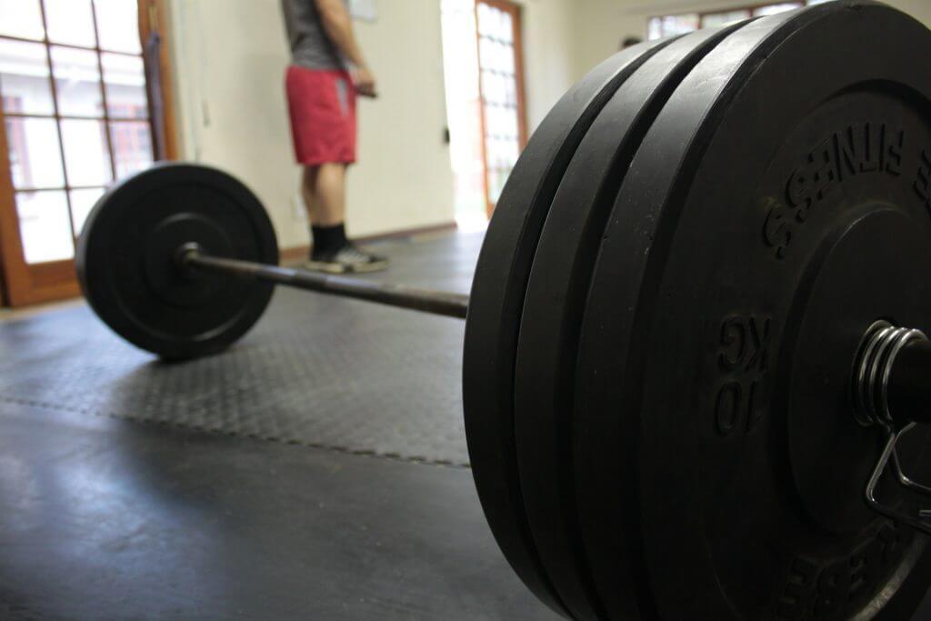 styrketräning skivstång
