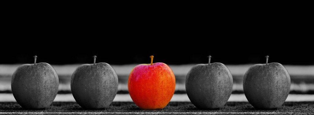 unik äpplen