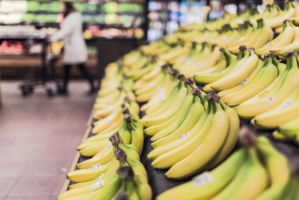 bananer livsmedel