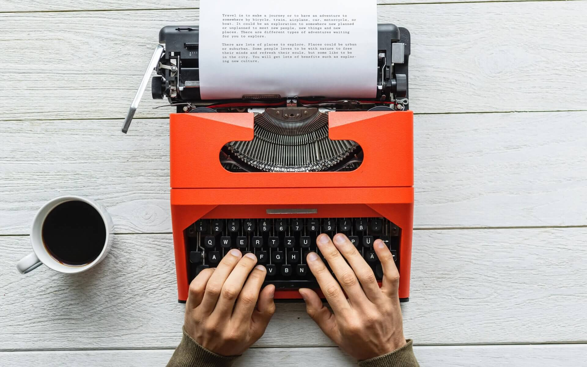 Skribent skrivmaskin