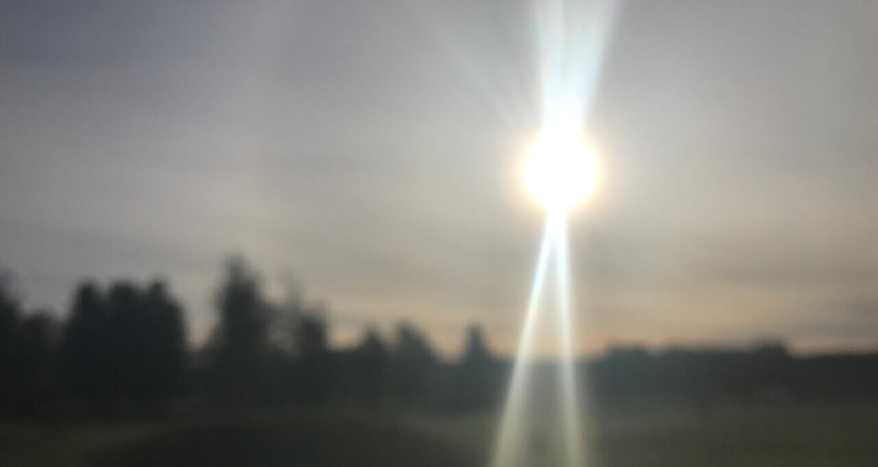 Anundshög solsken