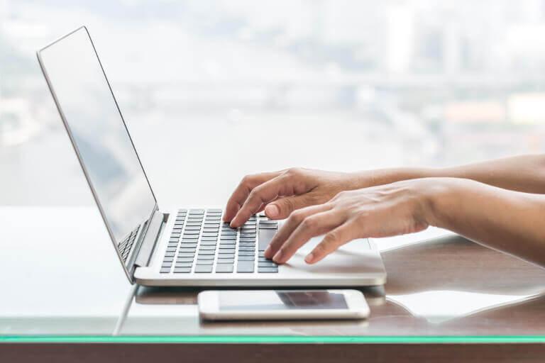 Skribent laptop