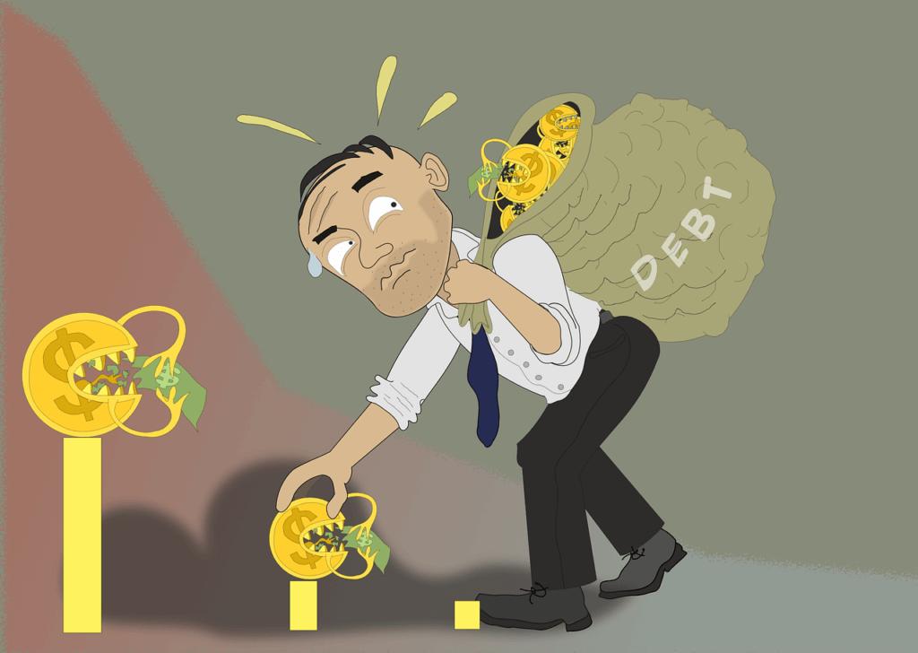 Samla lån och betala av skulder